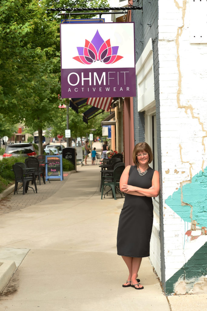 OhmFit Activewear owner Heather Young