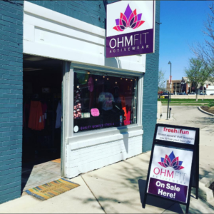 OhmFit Activewear Storefront